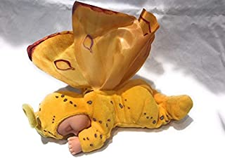 Anne Geddes Yellow Bean Bag Butterfly Baby Plush Doll 9