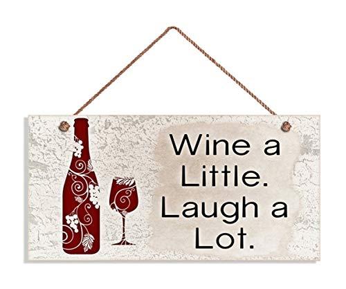wine bottle wall plaque - 6