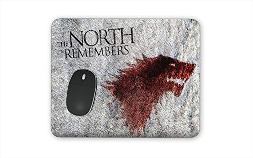 Game of Thrones Mouse Pads - Special Series Finale Set of Mousepads for Games of Throne Fans HBO GOT The North Remembers