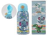 Mypiky - Botella térmica con pajita Happy Baby 500 ml – Elefantino (MPBB03)
