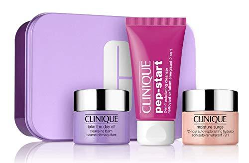 Clinique Makeup Remover Balm Pep Start Cleanser Moisture Surge Hydrator Set