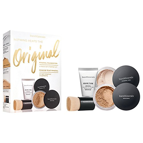 Original Get Started Kit Original SPF 15 Foundation Medium Beige 2 g + Original Foundation Primer 15 ml + Mineral Veil Original 3 g + Mini Beautiful Finish Brush 1 Stk.