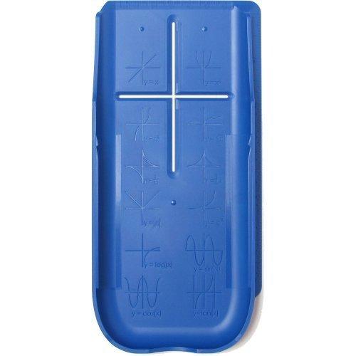EZ Graphing Blue Hard Slide Case-Cover (See Description for Details) for TI 84 Plus, TI 84 Plus C Silver Edition Color, TI 89 Titanium Graphing