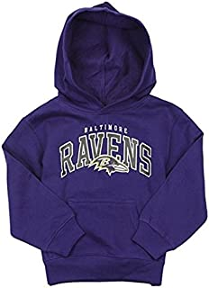 Outerstuff Baltimore Ravens NFL Little Boys Promo Fleece Hoodie, Purple