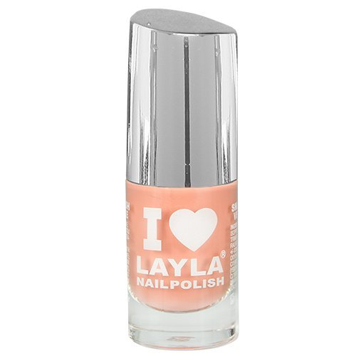 Layla Cosmetics Milano I Love Layla Vernis à Ongles Peachy Passion 5 ml