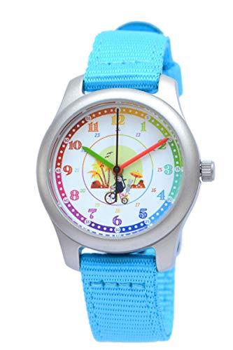 Kinder analoge Armbanduhr (blau)