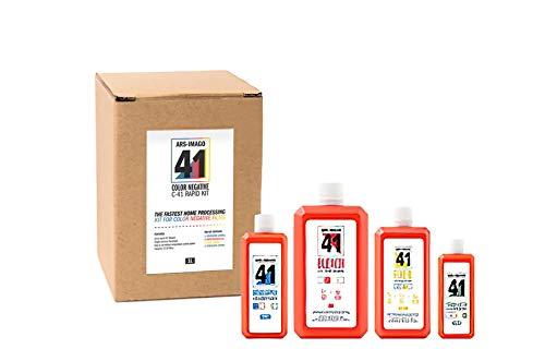 ars-imago 41 - Color negative rapid kit C41-1 litro - Kit sviluppo per pellicola colore