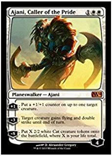 Magic: The Gathering - Ajani, Caller of the Pride - Magic 2014