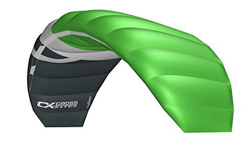 Cross Kites Unisex - Adulto Boarder 1.8 Fluorescent Green R2F, Fluoreszierend Verde, One Size