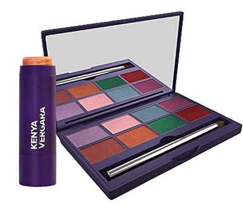KENYA VERGARA Set: 1 Highly OFFicial site app 8-tone pigmented palette Kansas City Mall shadow