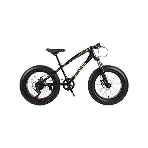 ZLDAN Snowmobile Double disc Wide Tires Shift Bike (Color : Black)