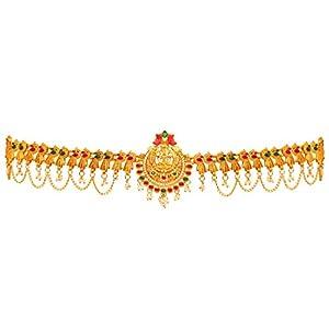 Jaipur Mart Preyans Kamarband Belly-Chain Tagdi for Women(Golden) (KMBND338MG)