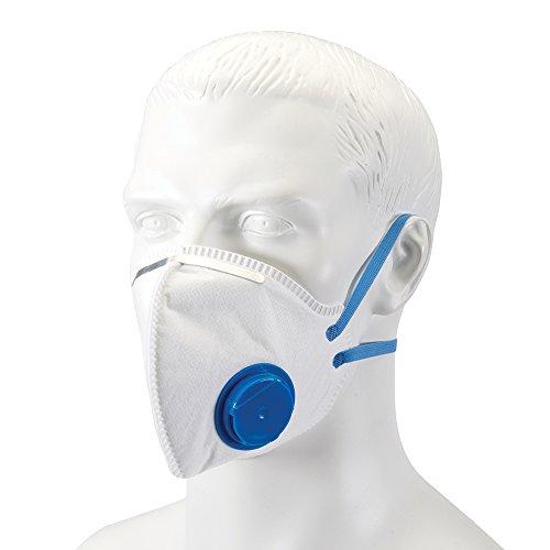 Silverline 568946Faltbare Atemschutzmaske mit Ventil FFP2NR (FFP2NR) - 2