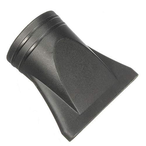 EAS Concentrateur de remplacement en plastique pour sèche-cheveux plat Noir