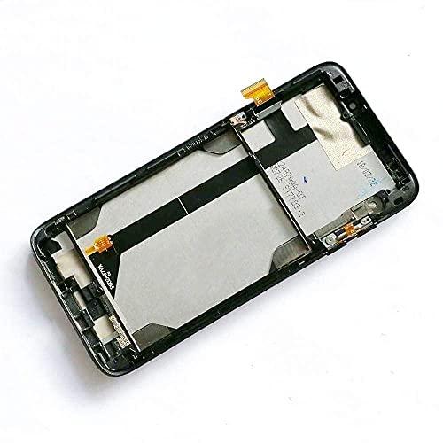 Pantalla de repuesto para teléfono Bluboo S8 Plus / S8+ pantalla LCD + sensor de pantalla táctil con marco 100% probado trabajo S8Plus pantalla parte (color: negro con marco) Mobile P
