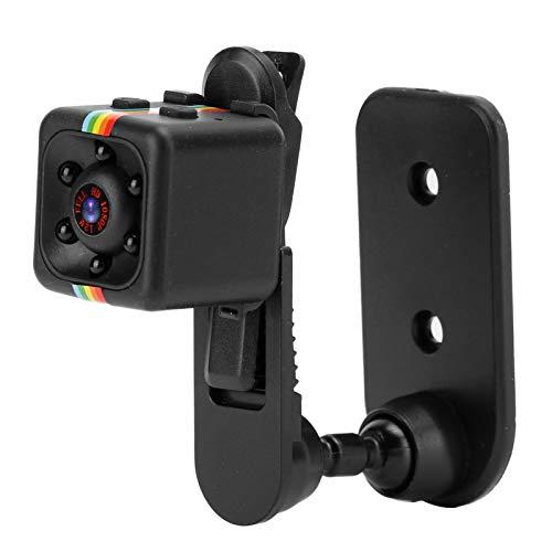 ASHATA Cámara HD de 1080p con visión Nocturna, 32G Mini cámara 1080P Videocámara de visión Nocturna portátil Grabadora de Video con detección de Movimiento para Uso en Interiores y Exteriores