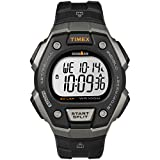 Timex Men's Ironman Classic 30 Full-Size Quartz Running Watch with Resin Strap, Black, 18 (Model: TW5M401009J)