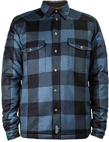 John Doe Motorrad Hemd Lumberjack Shirt Blue-S