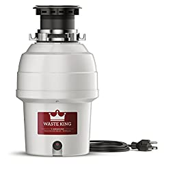 WASTE KING LEGEND SERIES CONTINUOUS FEED GARBAGE DISPOSAL (L-3200)
