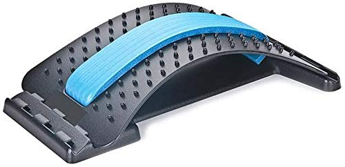 JUQIAO Back Stretcher Haltungsmassagegerät Für Rückenentspannung Und Schmerzlinderung Massagegerät Trageunterstützungsausrüstung Einstellbar