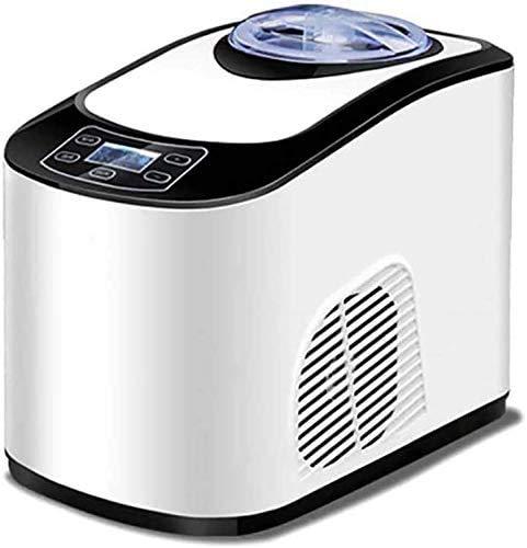 Atten Ice Cream Maker, Small Fully Automatic DIY Ice Cream Machine, Smart LCD Screen, Home Ice Shaker Yogurt Milkshake Maker
