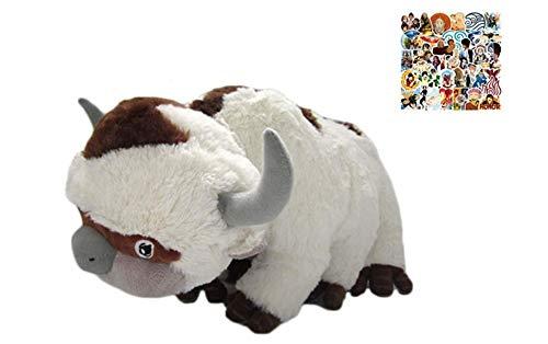 LYH2019 Avatar the Last Airbender Appa Plüschtier Weiche Kuscheltiere Stofftier Tiere Anime kuscheltier plüsch kawaii kissen groß 50cm