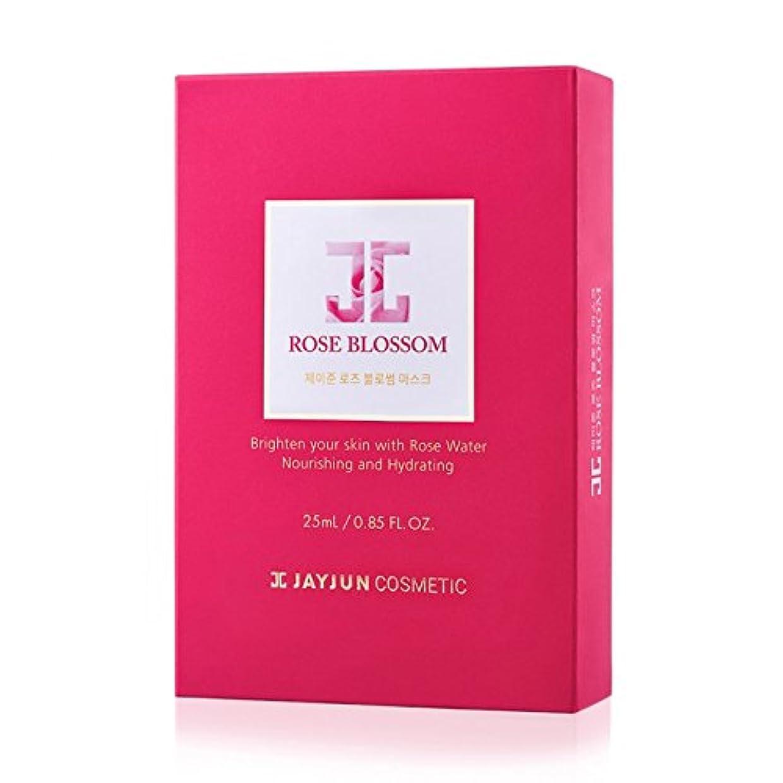 肺炎無駄だリビングルームJayjun Rose Blossom Masks 10 Sheets Moisturising Rejuvenating Face Skincare by JAYJUN