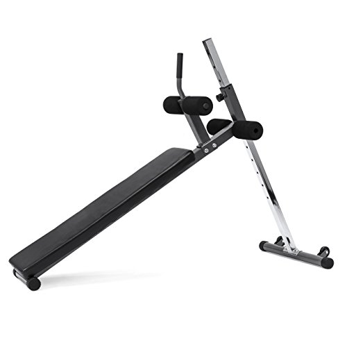 Best Choice Products Adjustable Decline Sit Up & Crunch AB Exercise Bench
