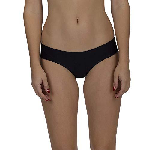 Hurley Women's Apparel Quick Dry Hipster Surf Bottom, Black, M