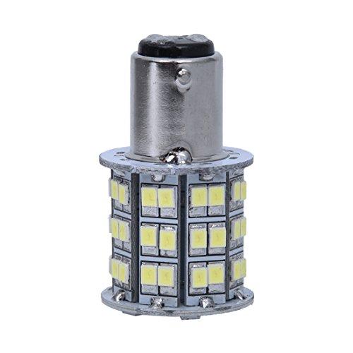 SODIAL 1157 1016 AMPOULE A 60 SMD LED 12V BLANC POUR VEHICULE