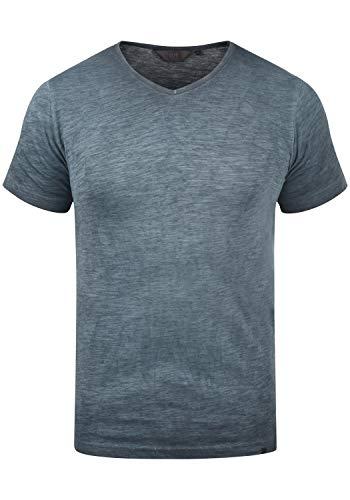 !Solid Conley Herren T-Shirt Kurzarm Shirt Mit V-Ausschnitt Aus 100{1ff0cebb55ba4f30b66d71bef34bce52e56eeaa17dc0d4db2437abf8d9e41dec} Baumwolle, Größe:M, Farbe:Insignia Blue (1991)