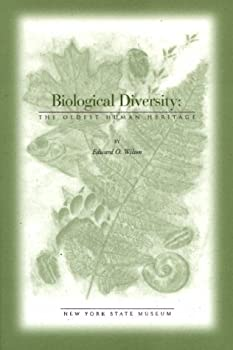 Biological Diversity : The Oldest Human Heritage (Educational Leaflet (New York State Museum), No. 34.) 1555572103 Book Cover