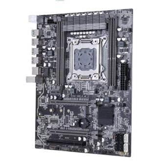 LWCX Placa Base Fit For Kllisre X79 LGA 2011 ATX USB3.0 SATA3 PCI-E NVME M.2 SSD Compatible con Memoria REG ECC y procesador Xeon E5 Placa Base para Juegos ATX