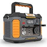 BALDR Portable Power Station 330W, 288Wh Emergency Backup Lithium Battery Solar Generator, Perfect CPAP Power Supply with Pure Sine Wave Inverter for Outdoors RV Camping Travel Home Emergency Use