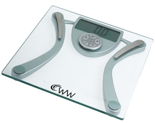 Weight Watchers Body Fat/Hydration and Memory Tracker Electronic Scale