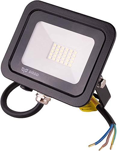 POPP® Foco Proyector LED 10W para uso Exterior Iluminación...