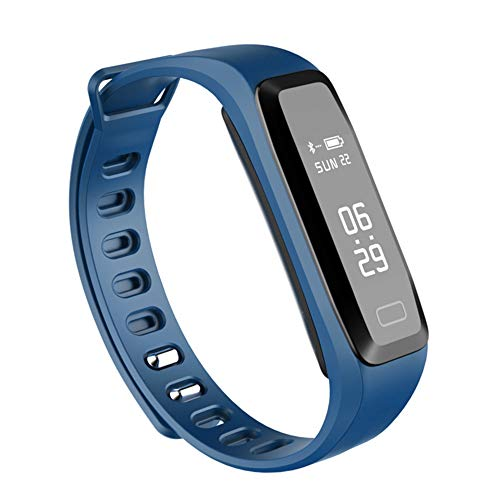 Lbyhning Fitness Trackers, Sport Smart Watch Bluetooth bracele Fitness Tracker hartslag bloeddruk zuurstof slaap monitoring Stappenteller waterdicht Beste geschenk Blauw
