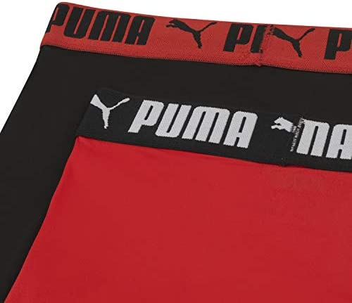 PUMA Boys Long Leg Performance Boxer Brief Boxer Briefs