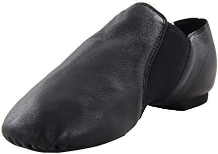 MSMAX Leather Jazz Dance Shoe (Toddler/Little Kid)