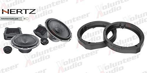 Best Deals! Hertz MPK165.3 6.5 Speaker Package with 1 Pair of Speakers and Adapters