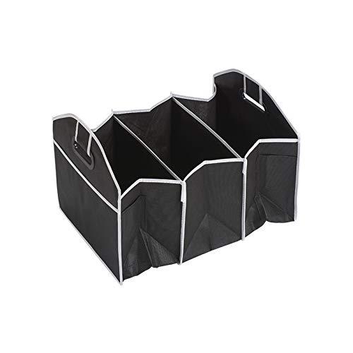 HUIXIAN XXIPO STRC Coche Multi-Pocket Organizer Bolsa De Almacenamiento Plegable De Gran Capacidad Tronco Pedido Y Ordenado (Color Name : Black)