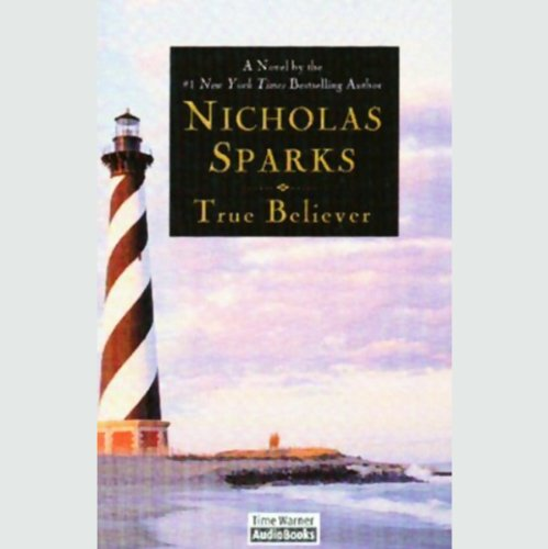 True Believer                   By:                                                                                                                                 Nicholas Sparks                               Narrated by:                                                                                                                                 David Aaron Baker                      Length: 9 hrs and 39 mins     1,018 ratings     Overall 4.1
