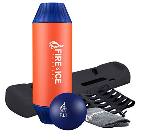 Fantastic Prices! Fire & Ice Therapy Roller and Ball Fitness Set - Revolutionary Self-Massage Tools ...
