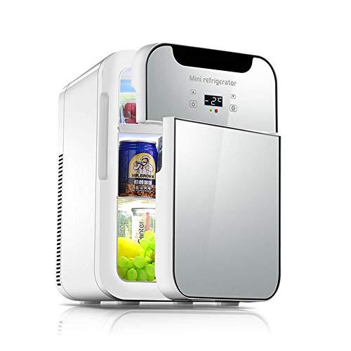 20L Getränkekühlschrank, Dual-Purpose-Kühler Und Heizung Dual-Core-LCD-Display Temperatur Einstellbar 12V / 220V - Geeignet Für Zuhause, Büro, Auto, Schlafsaal