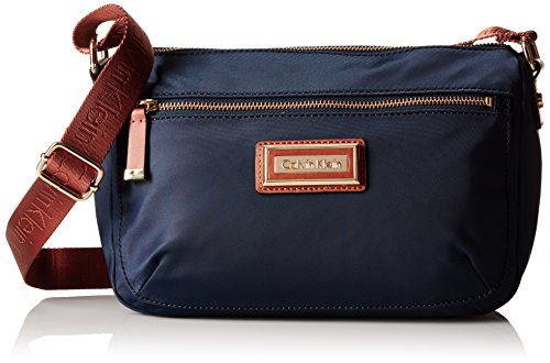 Calvin Klein Belfast Nylon Key Item Small Crossbody, Navy