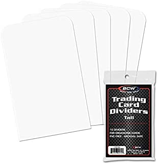 BCW BCW Trading Card Dividers Tall, 10 Dividers Per Pack
