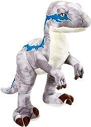 "6. Jurassic World Velociraptor ""Blue"" Plush"