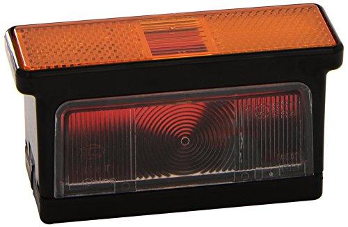 HELLA 2XS 007 841-021 Umrissleuchte - R10W - 12V/24V - Lichtscheibenfarbe: gelb/weiß/rot - Anbau/geschraubt - Einbauort: rechts/seitlicher Anbau