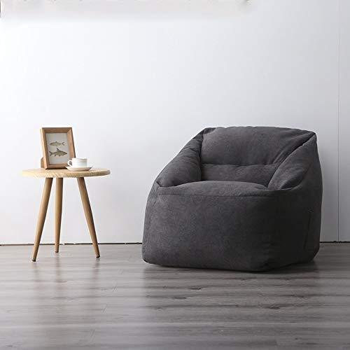 GYZ Lazy Sofa Simple Bean Bag Extraíble y Lavable Apartamento pequeño Sala de Estar Balcón Dormitorio Sofá Individual Computadora Lounge (Color : B)