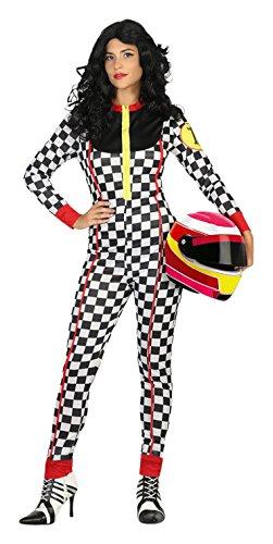 Atosa - Disfraz mujer piloto de carreras, M-L (17710)